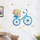 HEMU-HL-9805 Bicycle Date - X-Large Wall Decals Stickers Appliques Home Decor