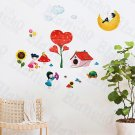 HEMU-HL-981 Playground - Wall Decals Stickers Appliques Home Decor