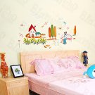 HEMU-HL-987 Shall We?-2 - Wall Decals Stickers Appliques Home Decor
