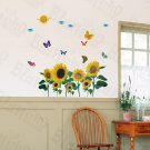 HEMU-HM-857 Invigorating - Large Wall Decals Stickers Appliques Home Decor