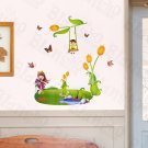 HEMU-HM-860 Imaginary Land - Large Wall Decals Stickers Appliques Home Decor