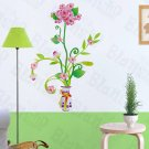 HEMU-LB-1639 Delightful Flowerpot - Wall Decals Stickers Appliques Home Decor
