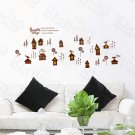 HEMU-LB-1823 Sweet Home - Wall Decals Stickers Appliques Home Decor