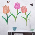 HEMU-LD-8056 Tulip - Wall Decals Stickers Appliques Home Decor
