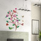 HEMU-LD-8087 Wave Tree - Wall Decals Stickers Appliques Home Decor