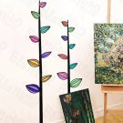 HEMU-SH-801 Colorful Leafs - Wall Decals Stickers Appliques Home Decor