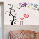 HEMU-XS-015 Love Tree - Large Wall Decals Stickers Appliques Home Decor