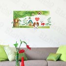 HEMU-XS-037 Lovely Dog - Large Wall Decals Stickers Appliques Home Decor