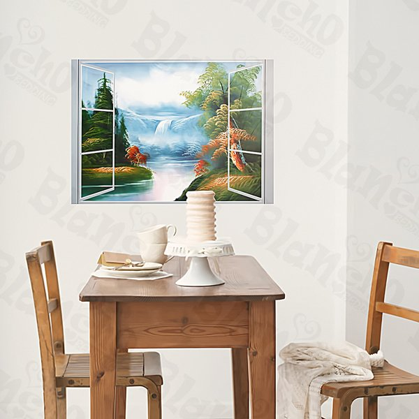 HEMU-XS-053 Natural Scene - Large Wall Decals Stickers Appliques Home Decor