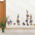 HEMU-ZS-011 Flower Decor-1 - Wall Decals Stickers Appliques Home Decor