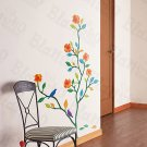 HEMU-ZS-022 Flower Decor-2 - Wall Decals Stickers Appliques Home Decor