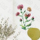 HEMU-ZS-045 Pretty Flowers - Wall Decals Stickers Appliques Home Decor
