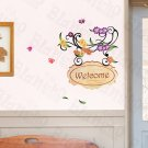 HEMU-ZS-054 Welcome 2 - Wall Decals Stickers Appliques Home Decor