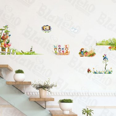 HEMU-ZS-065 Jungle House - Wall Decals Stickers Appliques Home Decor