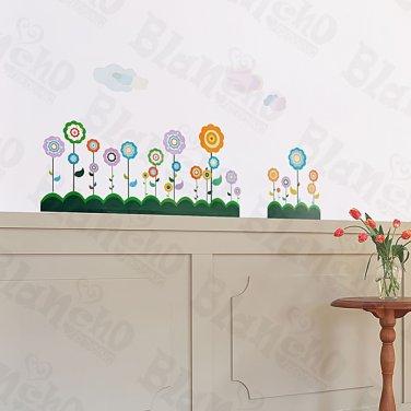 HEMU-ZS-073 Flower Lollipop-2 - Wall Decals Stickers Appliques Home Decor