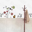 HEMU-ZS-082 Flower Decor-6 - Wall Decals Stickers Appliques Home Decor