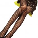 LING-HLPN14 Sexy Black Sheer Small Fishnet Stocking Pantyhose Hosiery