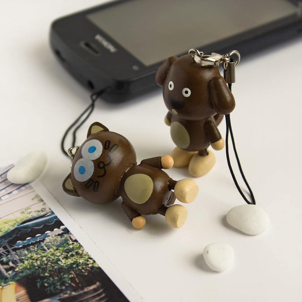 HC-C004-DOCA[Dog & Cat] - Cell Phone Charm Strap / Camera Charm Strap / Handbags Charms