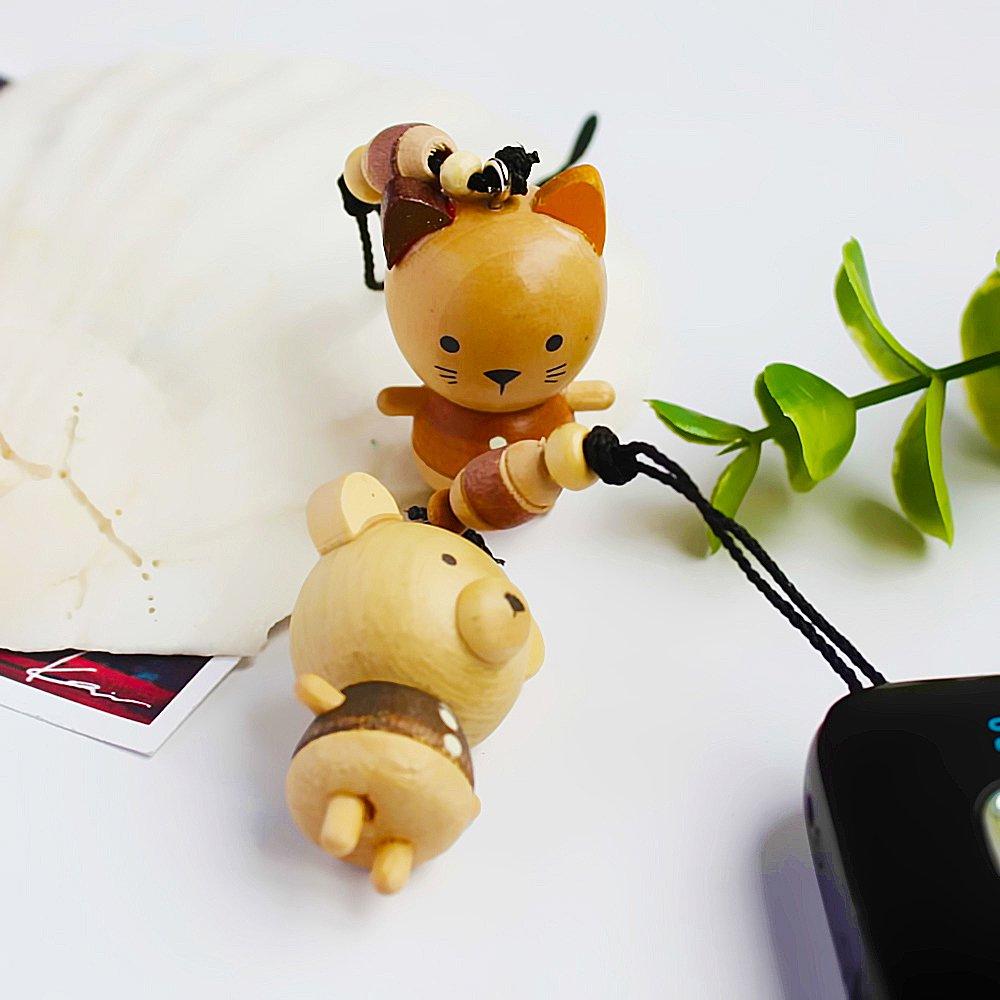 HC-C012-BECA[Animal Paradise-3] - Cell Phone Charm Strap / Camera Charm Strap / Handbags Charms