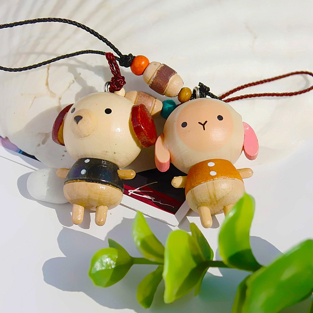 HC-C012-SHDO[Animal Paradise-5] - Cell Phone Charm Strap / Camera Charm Strap / Handbags Charms