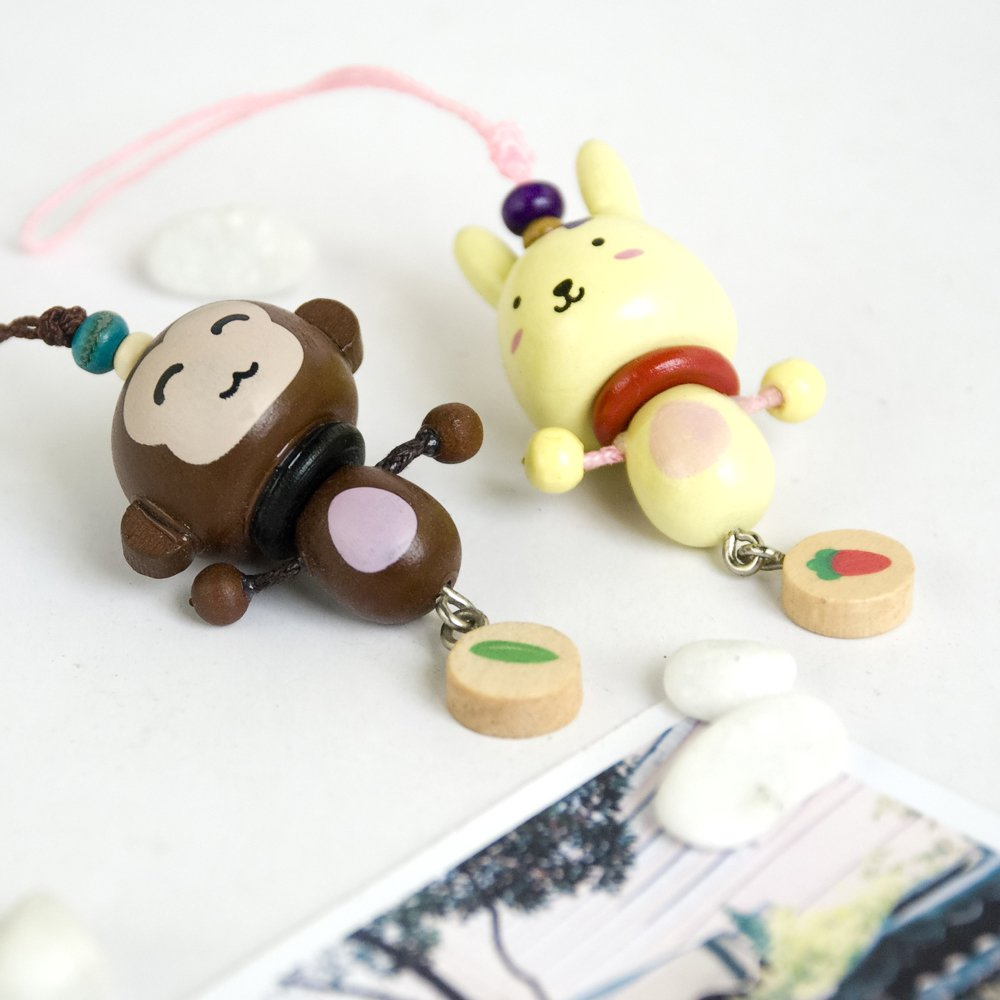 HC-C015-MORA[Lively Animal-2] - Cell Phone Charm Strap / Camera Charm Strap / Handbags Charms