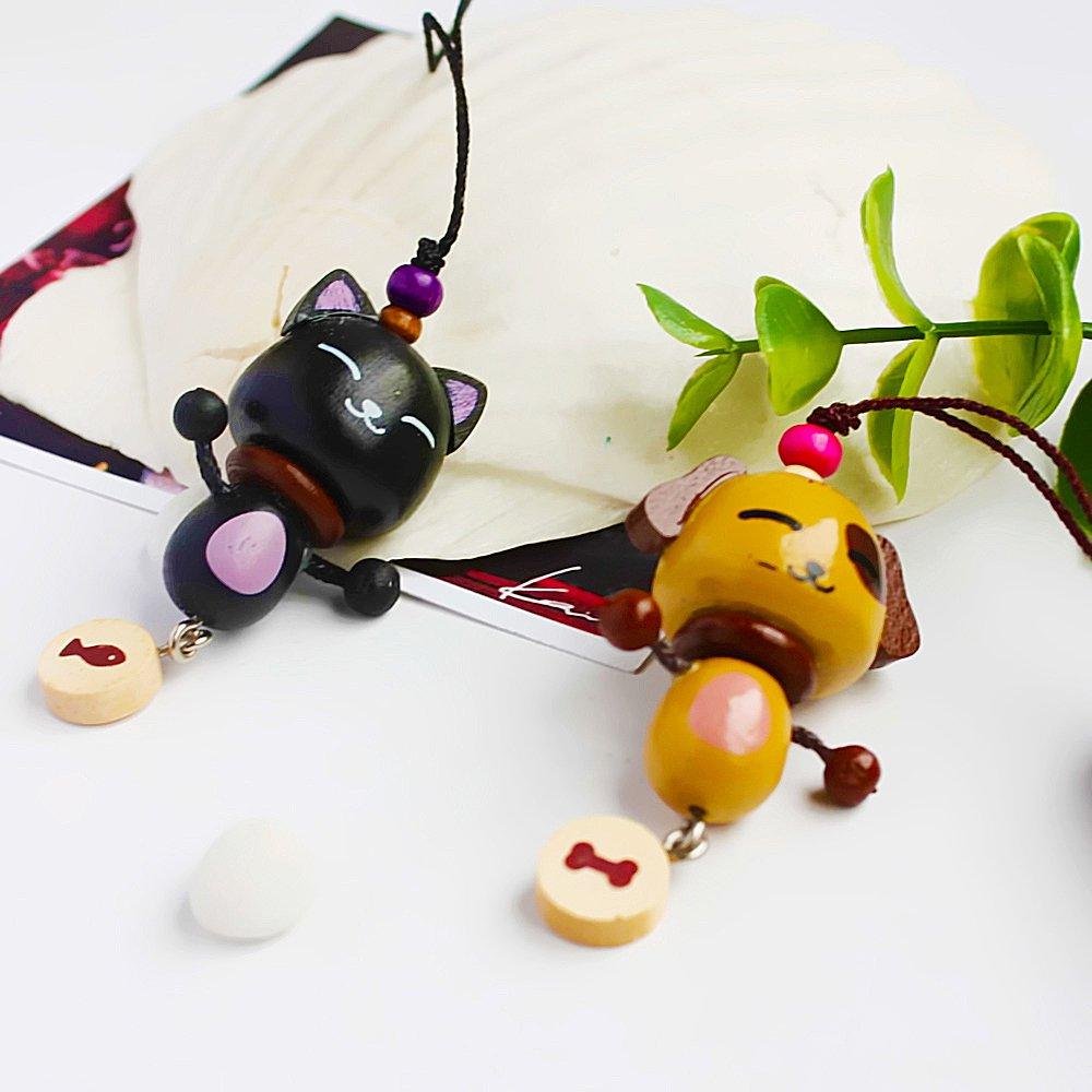 HC-C015-BLDO[Lively Animal-3] - Cell Phone Charm Strap / Camera Charm Strap / Handbags Charms