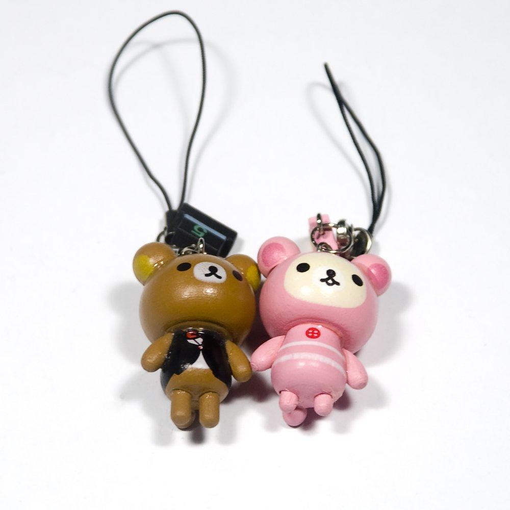 HC-C020-BBOB[Bear's Family-2] - Cell Phone Charm Strap / Camera Charm Strap / Handbags Charms