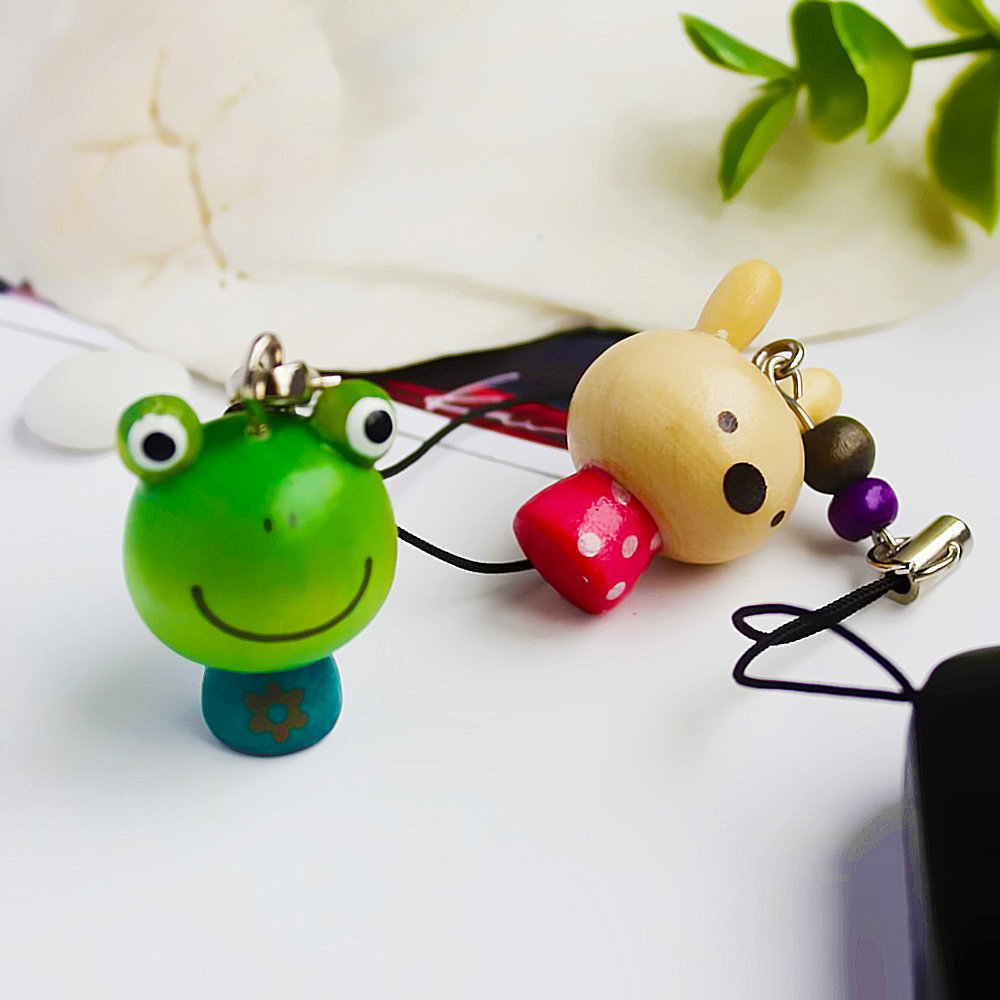 HC-C026-FRRA[Mini Animal-1] - Cell Phone Charm Strap / Camera Charm Strap / Handbags Charms