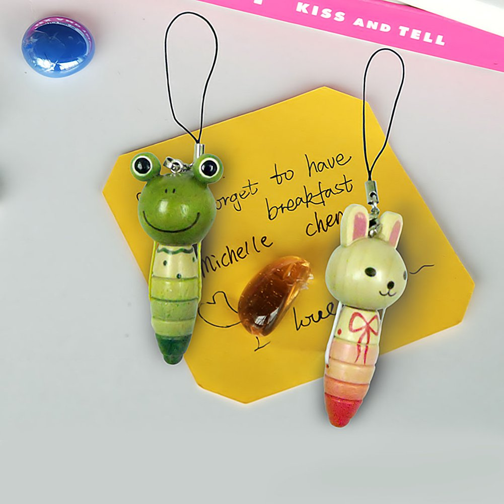 HC-C002-RAFR[Rabbit & Frog] - Cell Phone Charm Strap / Camera Charm Strap / Handbags Charms