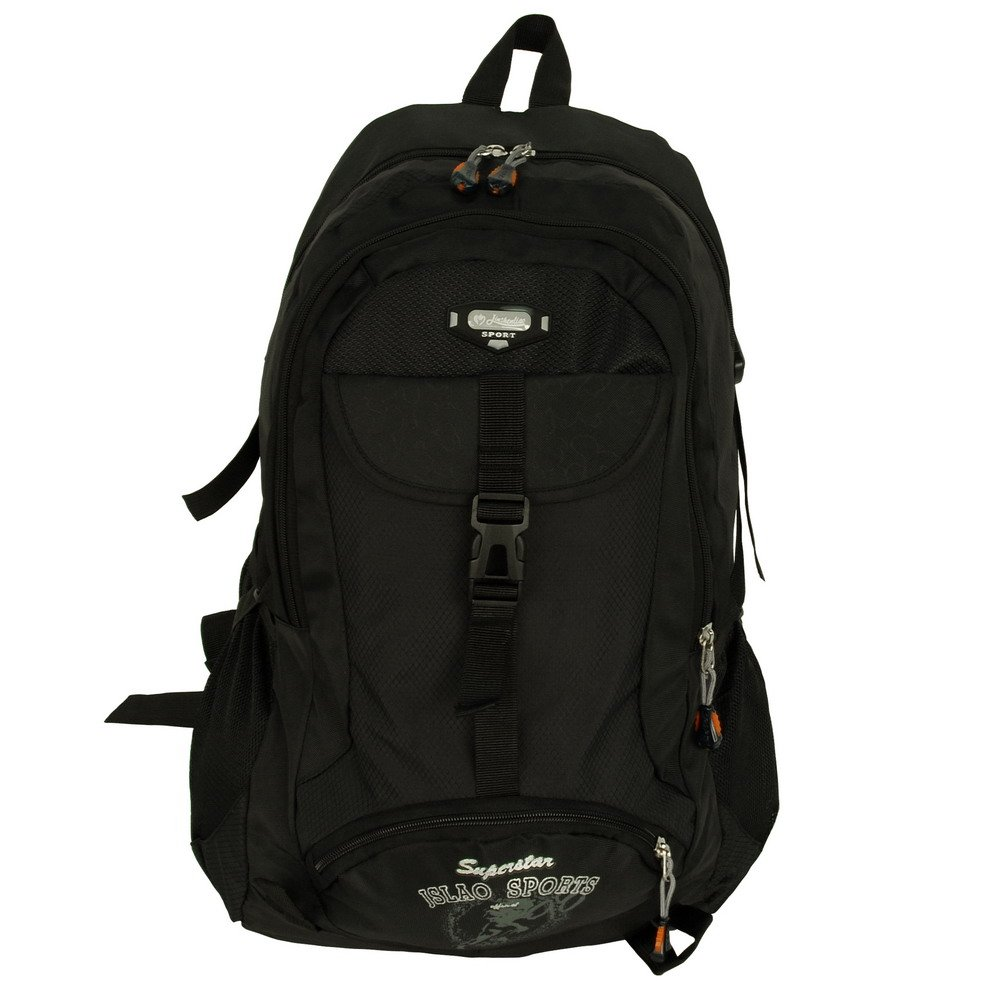 BP-WDL003-BLACK[Classic Black] Camping  Backpack/ Outdoor Daypack/ School Backpack