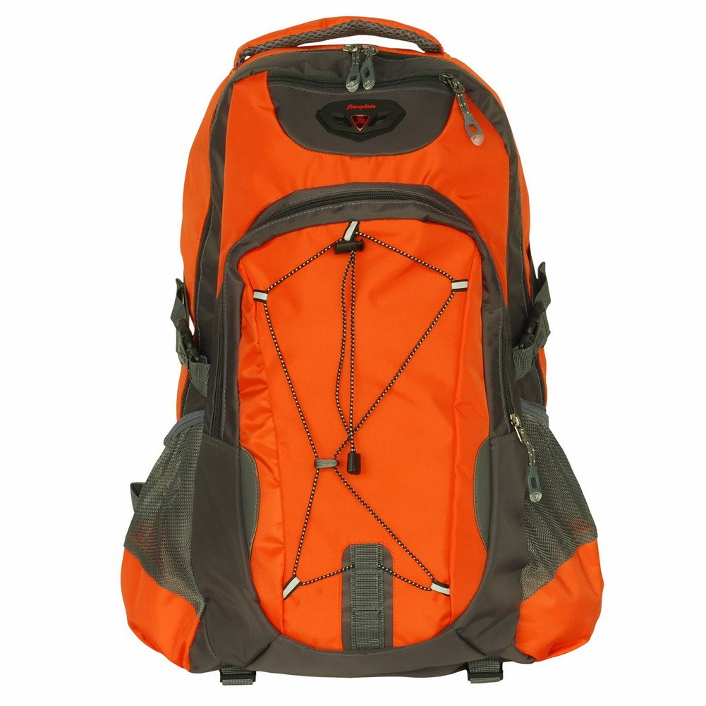 BP-WDL005-ORANGE[Sunny Life] Camping  Backpack/ Outdoor Daypack/ School Backpack