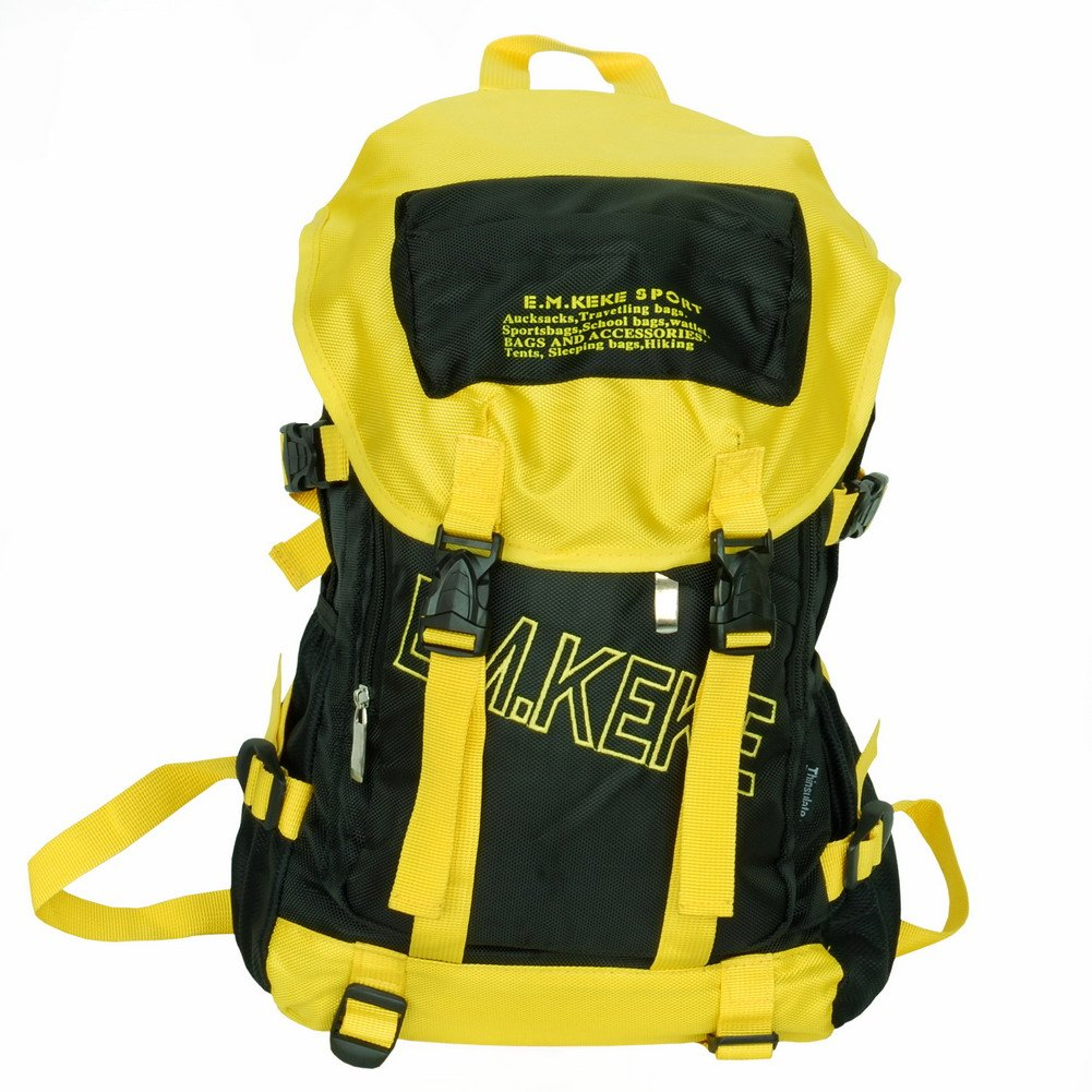 BP-WDL013-YELLOW[Companion - Yellow & Black] Multipurpose Outdoor Backpack /  School Bag