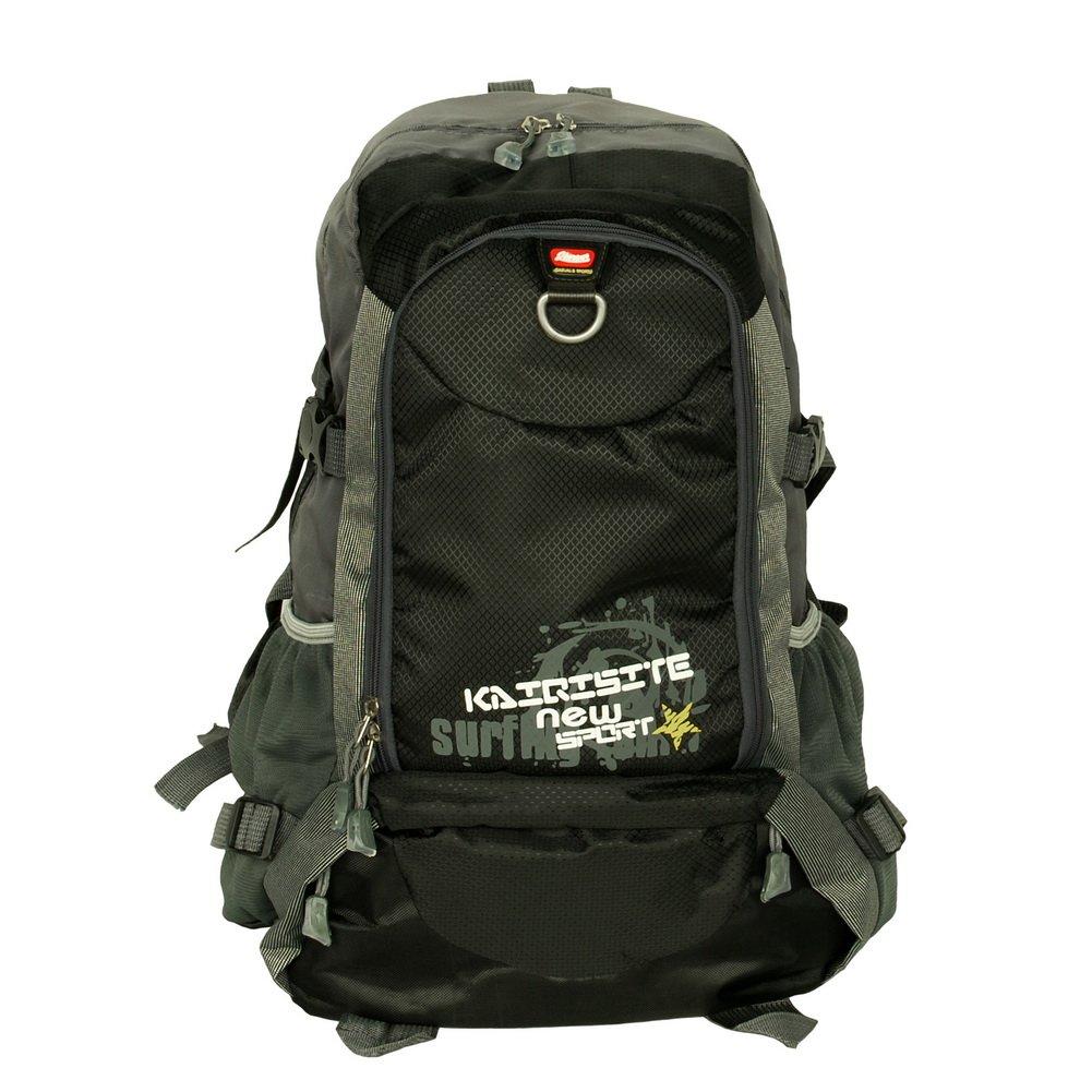BP-WDL017-BLACK[Rossonero Looked ] Multipurpose Outdoor Backpack /   School Bag- Black