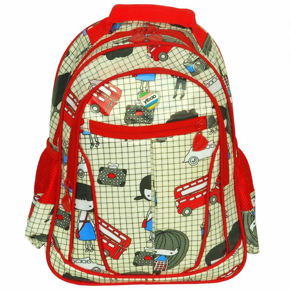 BP-WDL026-GREEN[Go To School] Kid Backpack / Pre-School Backpack / Snack Backpack - Green