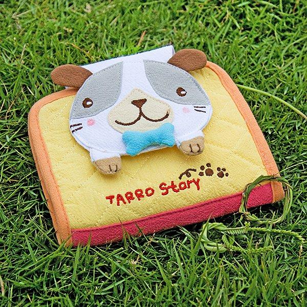 KT-GA-40-DOG[Tarro story - Dog] Fabric Art Wallet Purse / Card Holder (4.9*3.9)