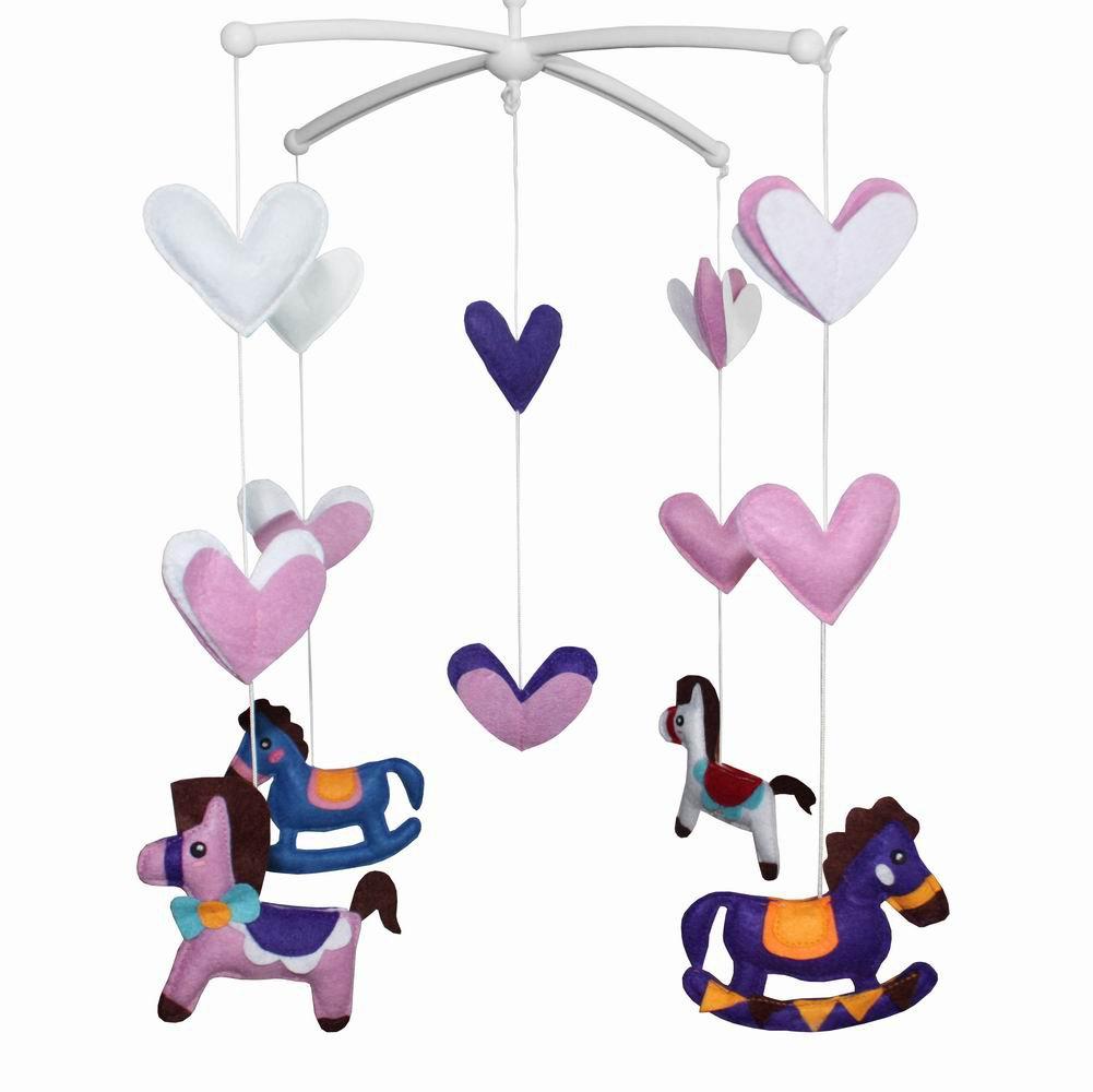 BC-BAB-ONIM0005-MIKI-CATH Creative Crib Mobile Handmade Baby Mobile Cot Mobile Toy[ Trojans ]