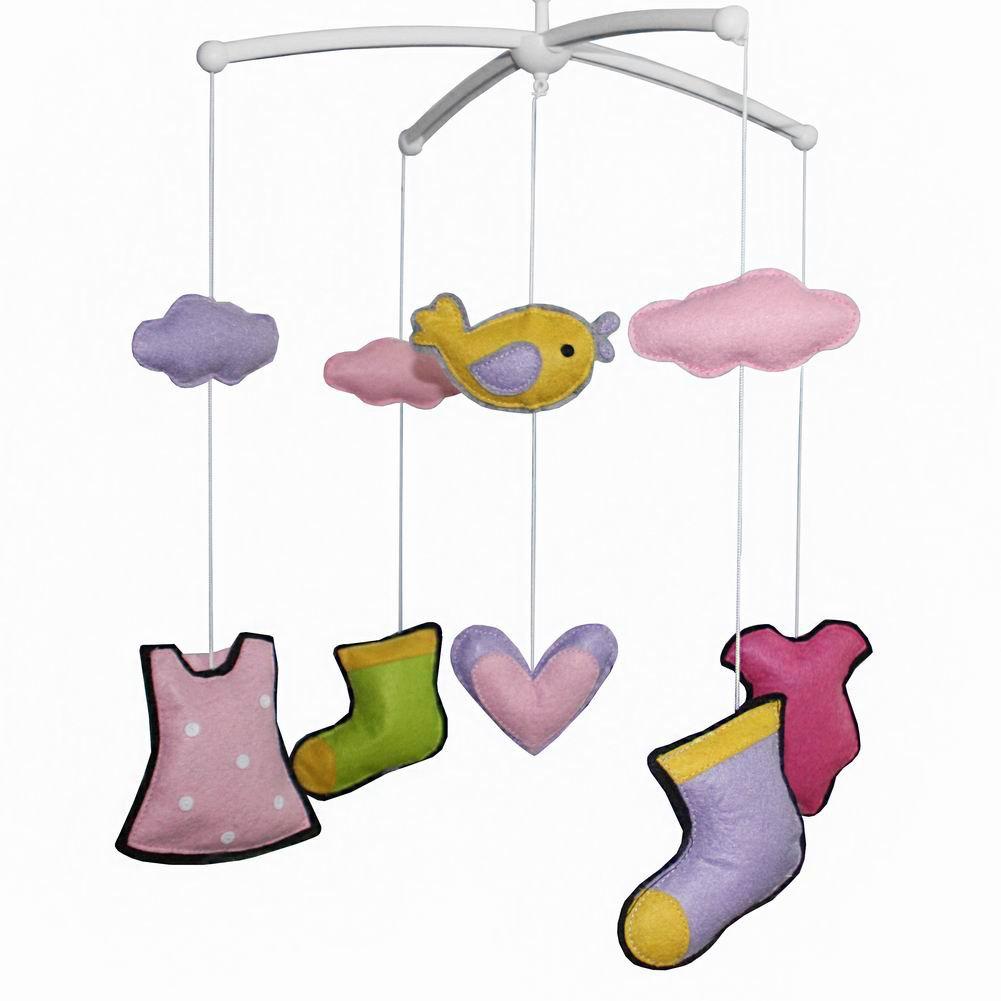 BC-BAB-ONIM0010-MIKI-CATH [Beautiful Life] Creative Crib Mobile Baby Crib Musical Mobile