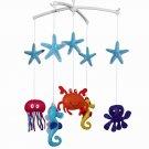 BC-BAB-ONIM0018-MIKI-CATH Lovely Infant Music Mobile Handmade Baby Crib Mobile [ Underwater World ]