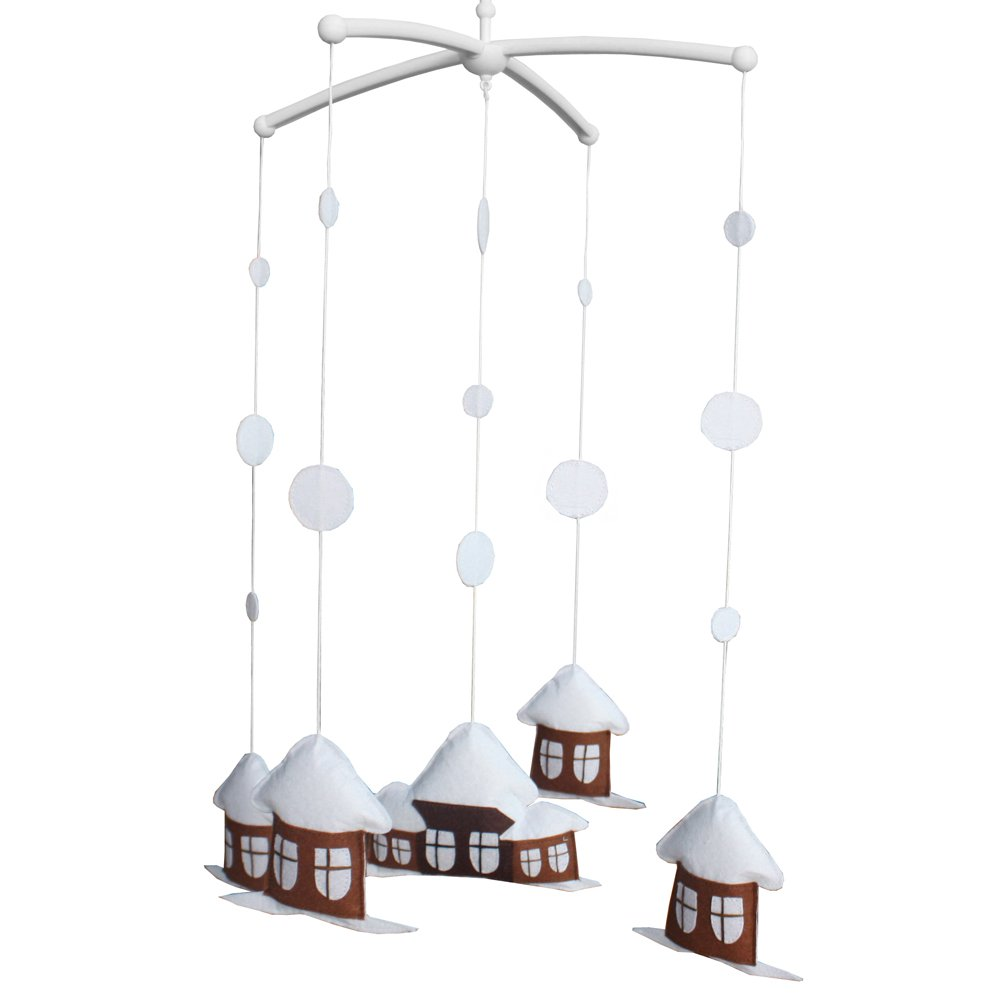 BC-BAB-ONIM0034-BELL-EMMA [Home] Baby Musical Toys Crib Dreams Mobile Crib Hanging Bell