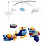 BC-BAB-ONIM0045-WING-EMMA [Plane] Creative Crib Mobile Infant Bed Hanging Bell Crib Toy