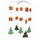 BC-BAB-ONIM0073-BELL-CELI Handmade Cute Crib Hanging Rotating Bell Christmas Tree Musical Mobile
