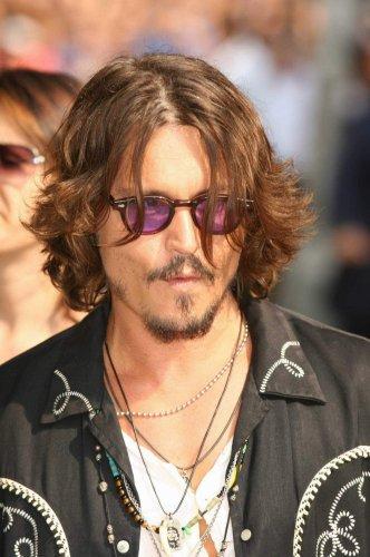 60a9faedf62 Retro Vintage Johnny Depp sunglasses tortoise with purple lens