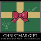 Christmas Gift - Afghan Crochet Graph Pattern Chart