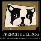 French Bulldog - Afghan Crochet Graph Pattern Chart