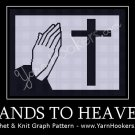 HANDS TO HEAVEN - Afghan Crochet Graph Pattern Chart