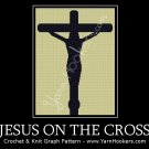 Jesus on the Cross - Afghan Crochet Graph Pattern Chart