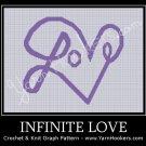 Infinite Love - Afghan Crochet Graph Pattern Chart