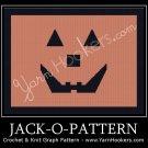 JACK-O-Pattern - Afghan Crochet Graph Pattern Chart