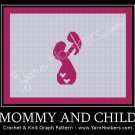 Mommy and Child - Afghan Crochet Graph Pattern Chart