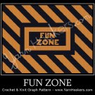 Fun Zone - Afghan Crochet Graph Pattern Chart
